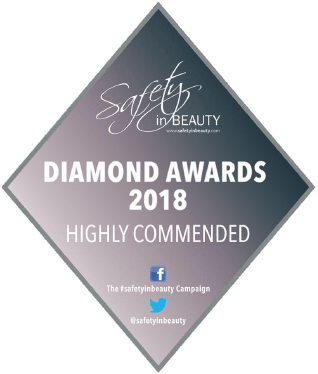 SAFETY IN BEAUTY AWARDS 2018 - HIGHLY COMMENDED AWARD FOR OUTSTANDING CLINIC OF THE YEAR