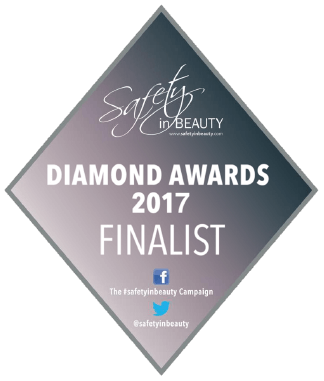 SAFETY IN BEAUTY AWARDS 2017 - FINALIST - OUTSTANDING CLINIC OF THE YEAR
