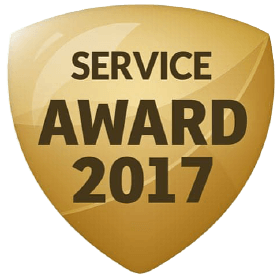 WHAT CLINIC SERVICE AWARD 2017 - WINNER